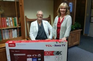 Chiropractor Anchorage AK William Ross and contest winner